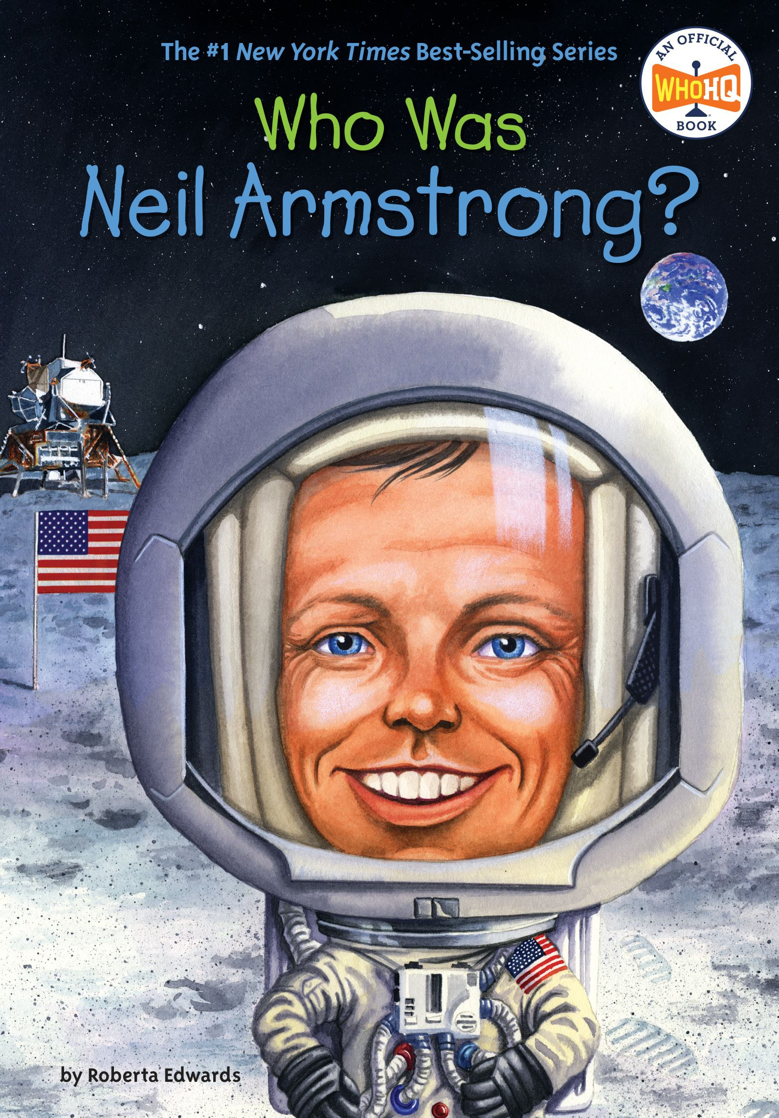 book cover image: Who Was Neil Armstrong?