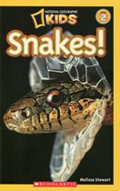book cover image: Snakes!