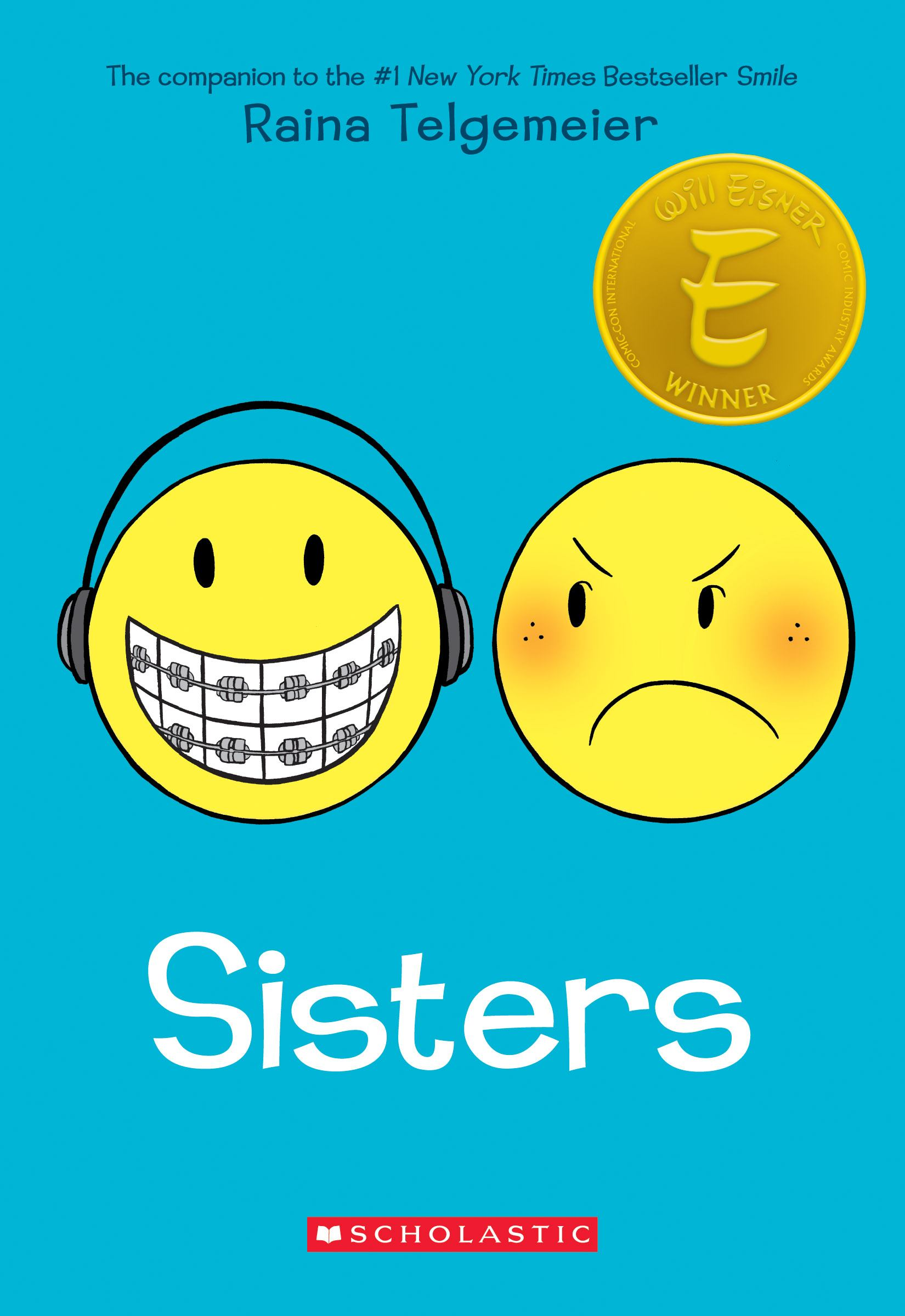Book cover of yellow smiley faces