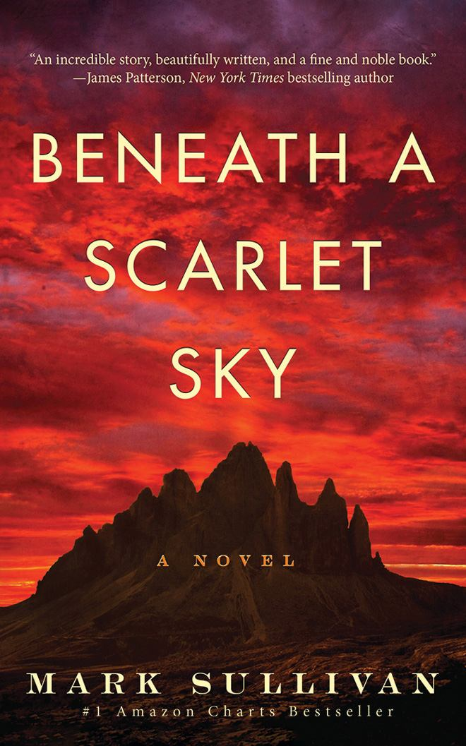 Image for Beneath a Scarlet Sky : A Novel