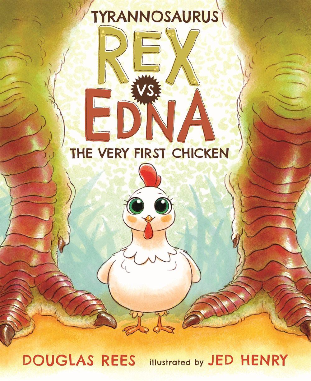 Image for Tyrannosaurus Rex vs. Edna, the Very First Chicken