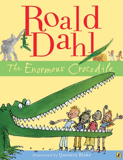 book cover image: The Enormous Crocodile