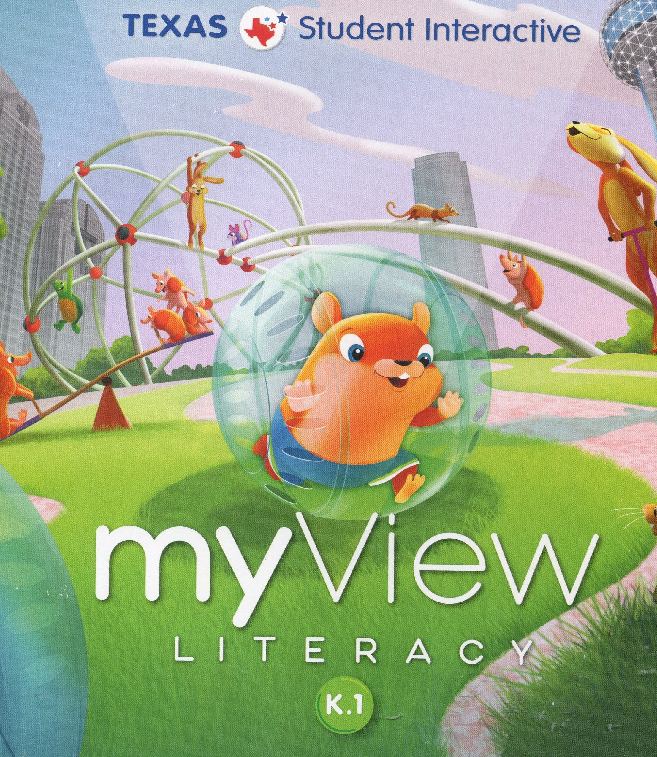 Image for Texas Pearson myView Literacy Grade K Level 1