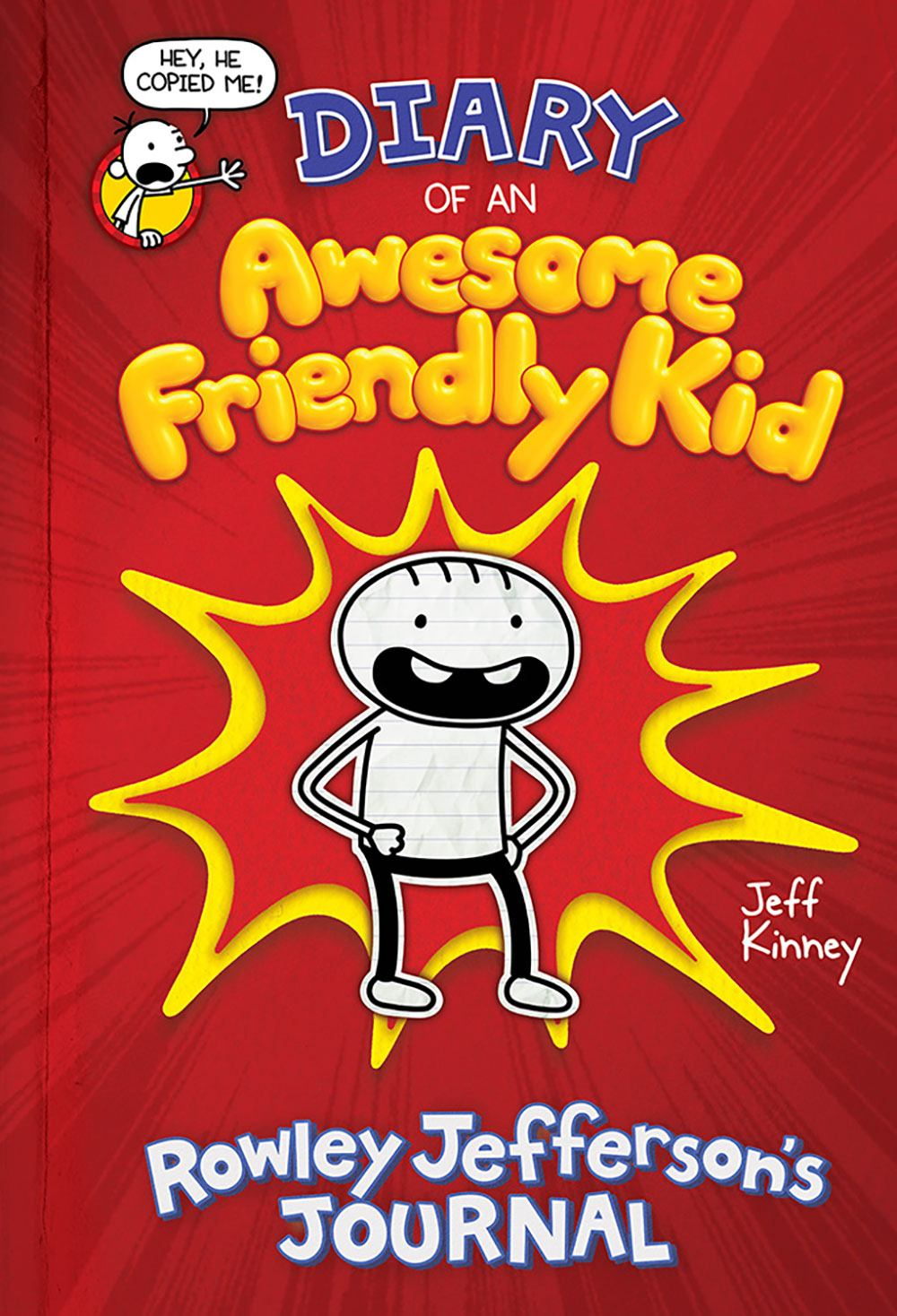 Cover image for Diary Of An Awesome Friendly Kid: Rowley Jefferson's Journal