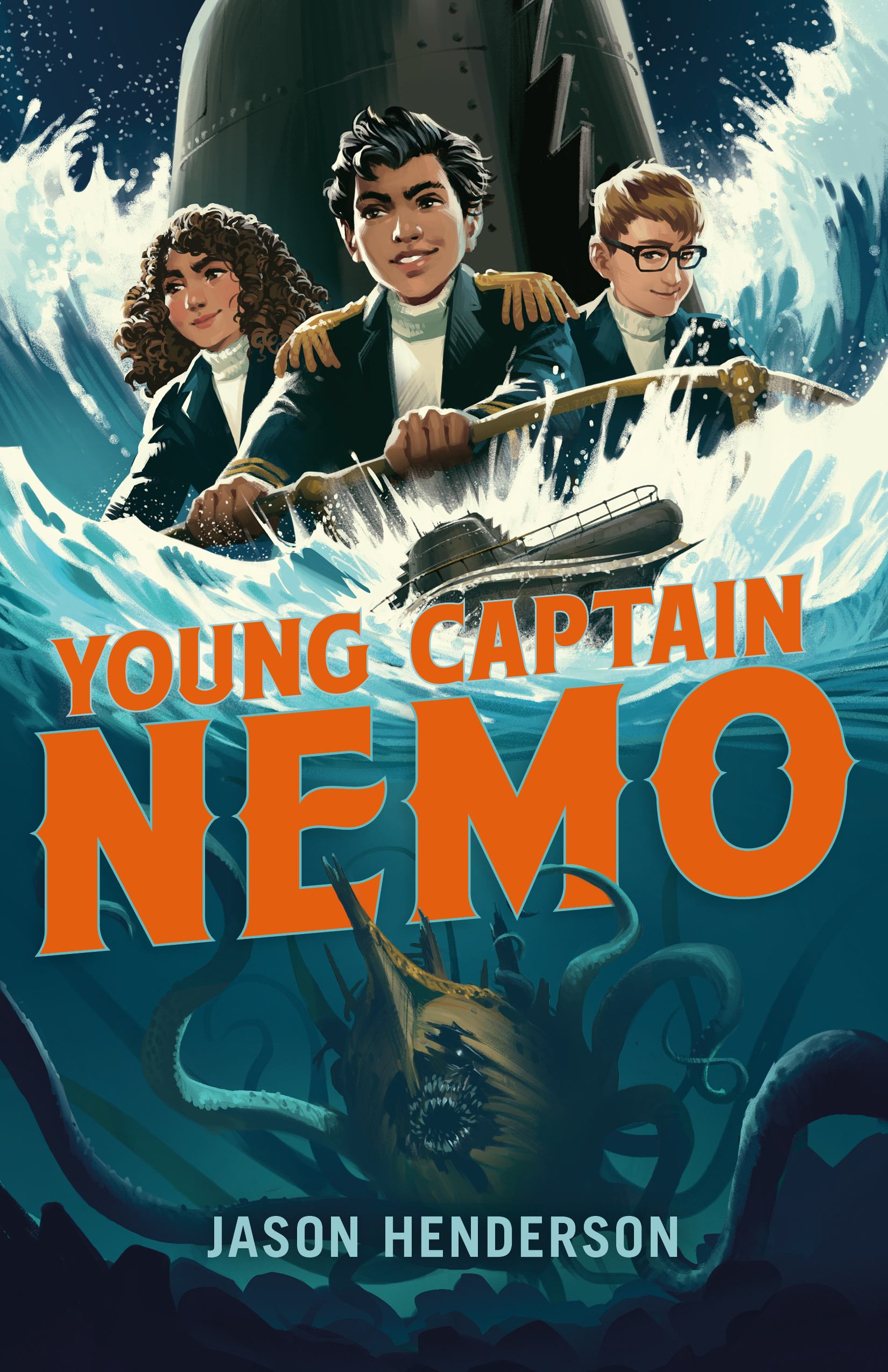 Cover image for Young Captain Nemo